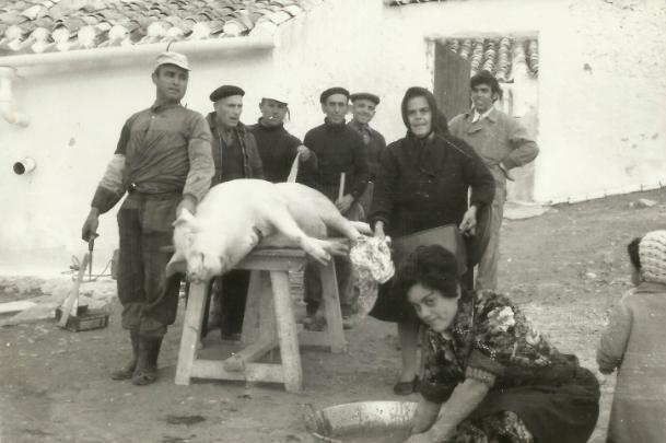 El mataero como tradicion en Sierra 1 - Asociacion de Vecinos de Sierra - vecinosdesierra