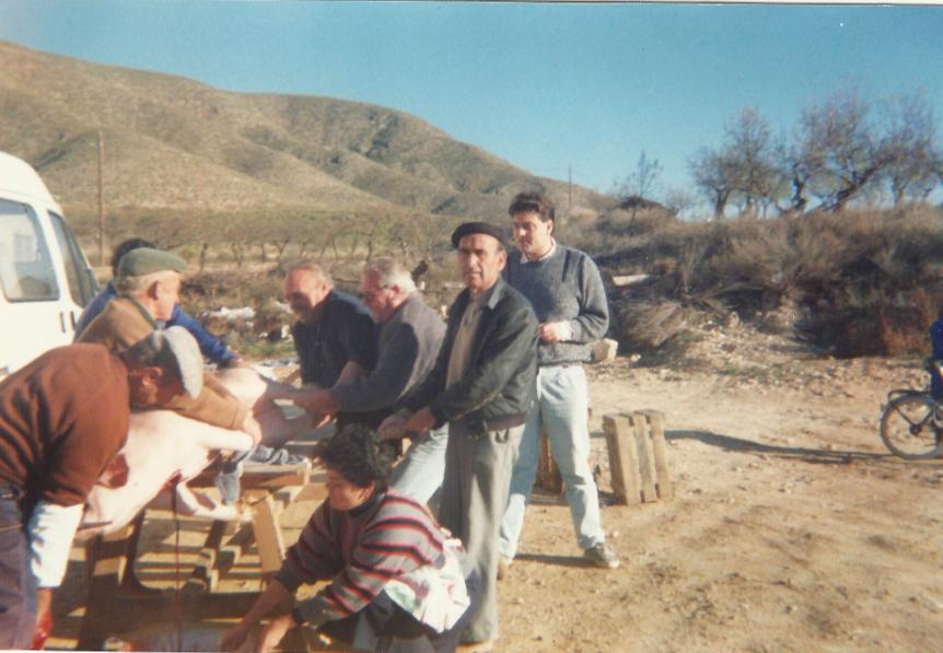 El mataero como tradicion en Sierra 4 - Asociacion de Vecinos de Sierra - vecinosdesierra